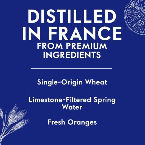 Grey Goose L'Orange Vodka Perspective: left