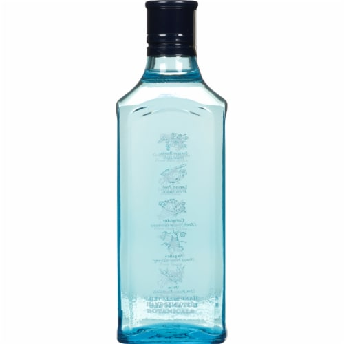 Bombay Sapphire Gin Perspective: left