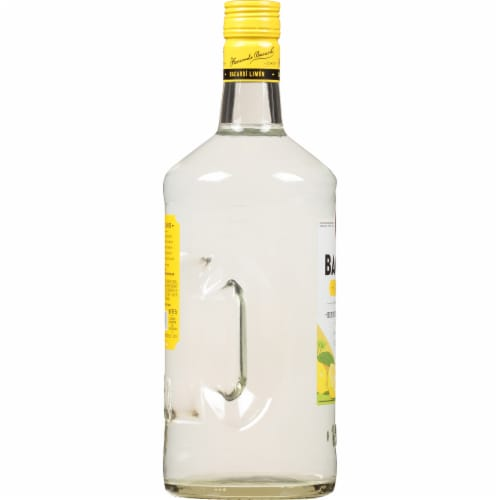 Bacardi Limon Rum Perspective: left