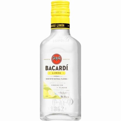 Bacardi Limon Rum Perspective: left