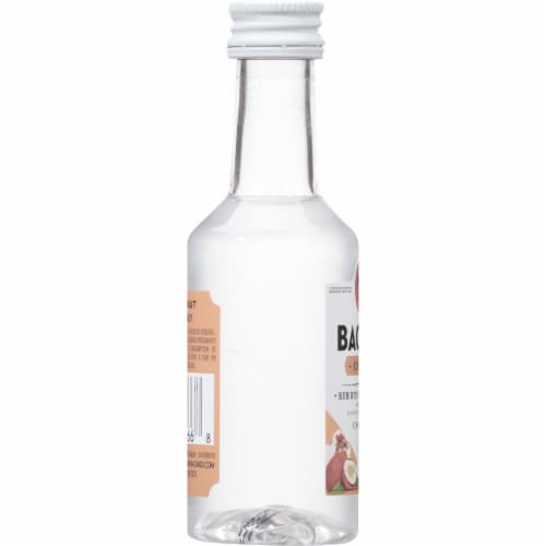Bacardi Coconut Rum Perspective: left