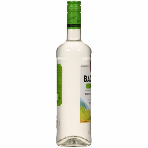Bacardi Lime Rum Perspective: left