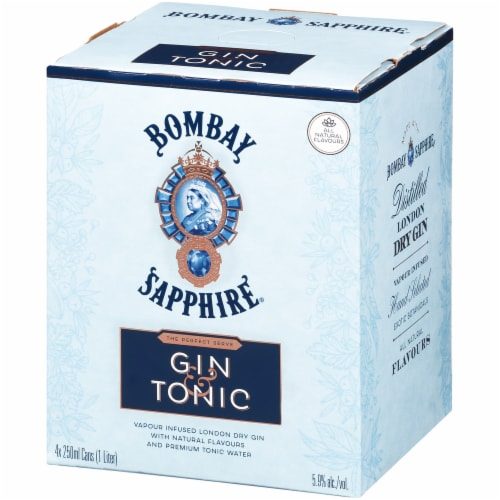 Bombay Sapphire Gin & Tonic Perspective: left