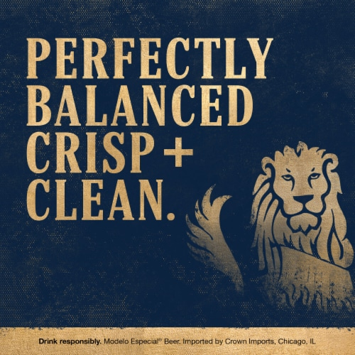 Modelo Especial Mexican Lager Beer Perspective: left