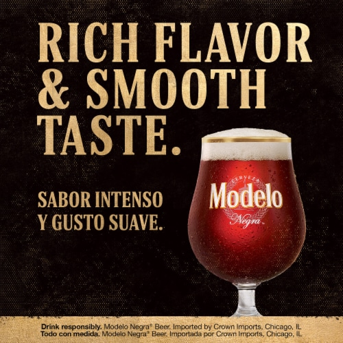 Modelo Negra Imported Beer Perspective: left