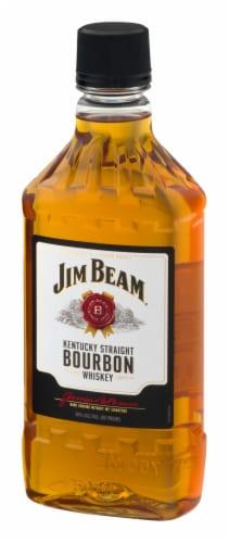Jim Beam Kentucky Straight Bourbon Whiskey Perspective: left