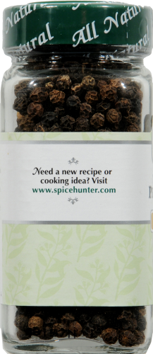The Spice Hunter Whole Black Tellicherry Peppercorns Perspective: left