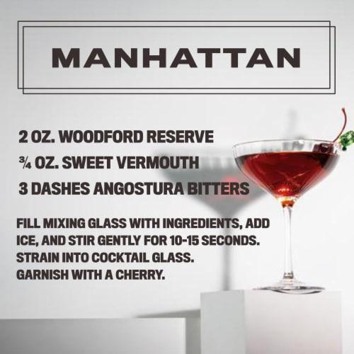 Woodford Reserve Distiller's Select Kentucky Straight Bourbon Whiskey Perspective: left
