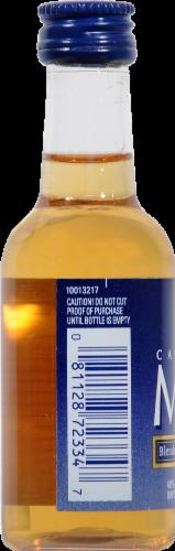 Canadian Mist Blended Canadian Whisky Perspective: left