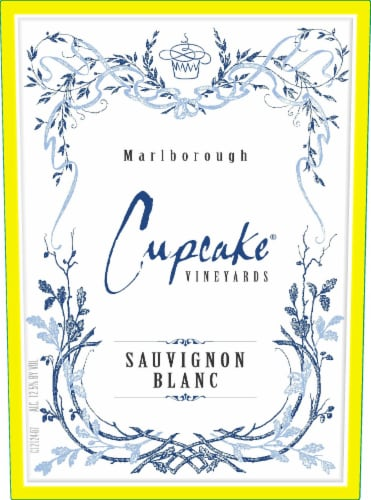 Cupcake Vineyards Sauvignon Blanc White Wine Perspective: left