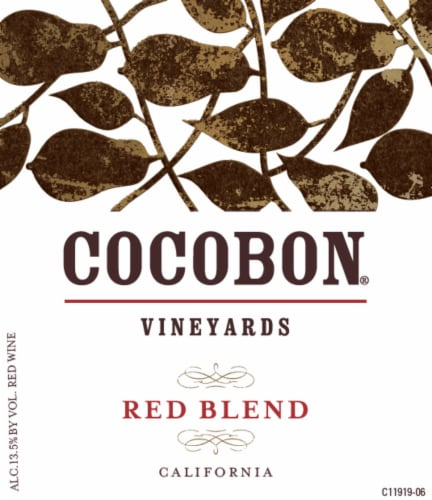 Cocobon Red Blend Red Wine Perspective: left