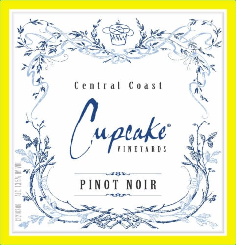 Cupcake Pinot Noir Red Wine Perspective: left
