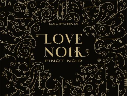 Love Noir Pinot Noir Red Wine Perspective: left
