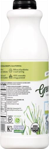Green Valley Lactose Free Organic Plain Lowfat Kefir Perspective: left