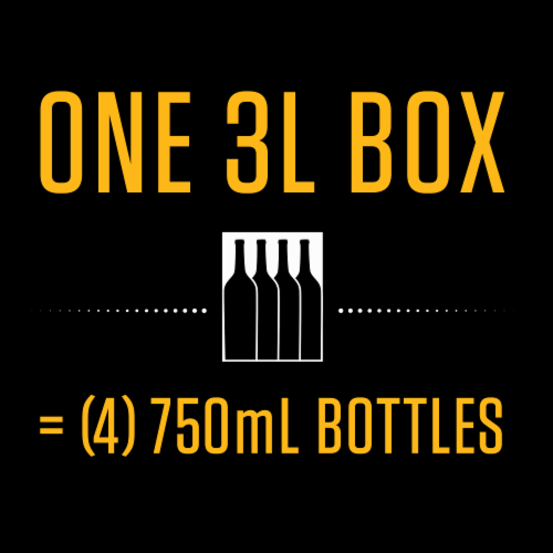 Black Box Chardonnay White Wine Perspective: left