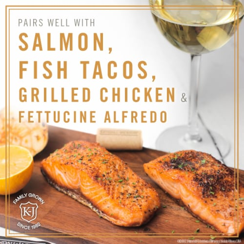 Kendall-Jackson Vintner's Reserve Chardonnay White Wine Perspective: left