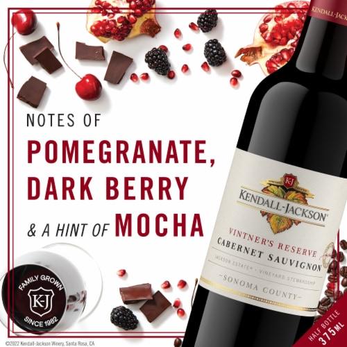 Kendall-Jackson Vintner's Reserve Cabernet Sauvignon Red Wine Perspective: left