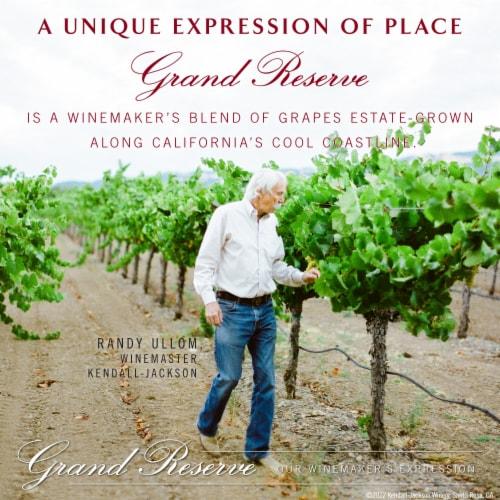 Kendall-Jackson Grand Reserve Cabernet Sauvignon Red Wine Perspective: left