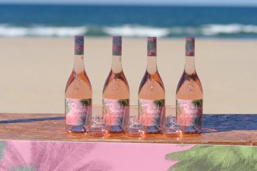 Chateau D'esclans The Palm Rose Vin De Provence Rose Wine Perspective: left