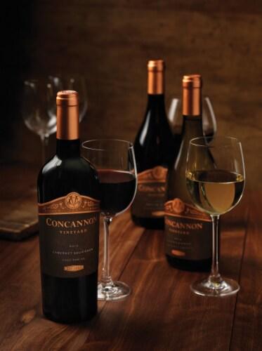 Concannon Founders Cabernet Sauvignon Red Wine Perspective: left