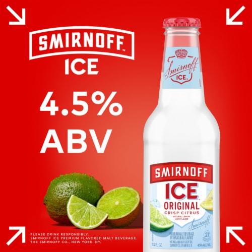 Smirnoff Ice Original Lemon Lime Premium Malt Beverage Perspective: left