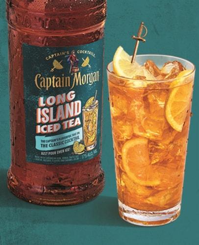 Captain Morgan Long Island Iced Tea Perspective: left