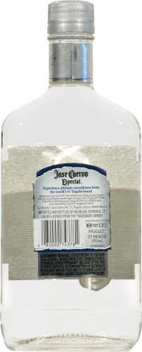Jose Cuervo Silver Especial Tequila Perspective: left