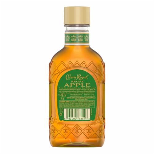 Crown Royal Regal Apple Flavored Whisky Perspective: left