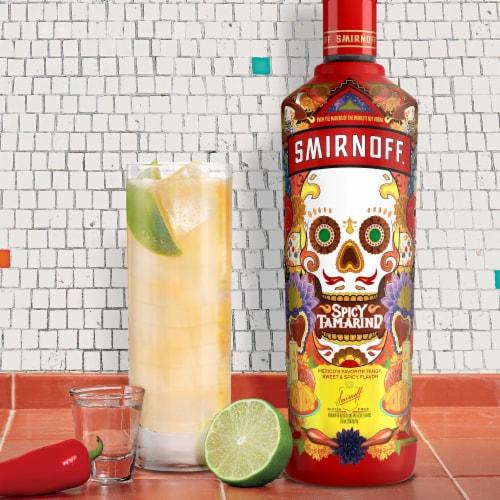 Smirnoff Spicy Tamarind Vodka Perspective: left