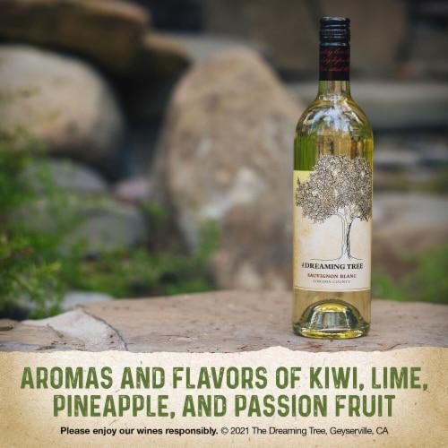 The Dreaming Tree Sauvignon Blanc White Wine Perspective: left