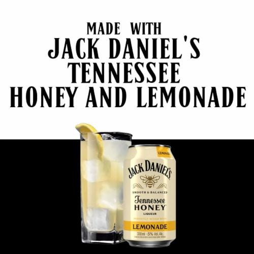 Jack Daniel's Whiskey Honey Lemonade Perspective: left
