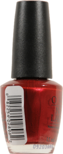 OPI I'm Not Really A Waitress Nail Lacquer Perspective: left