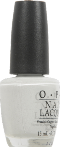 OPI Alpine Snow Nail Lacquer Perspective: left