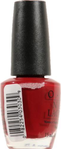OPI Malaga Wine Nail Lacquer Perspective: left