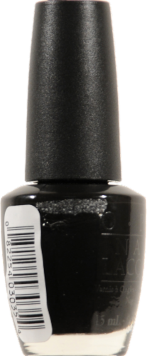 Opi Black Onyx Nail Lacquer Perspective: left