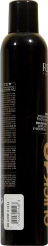 Redken Quick Dry Hairspray Perspective: left