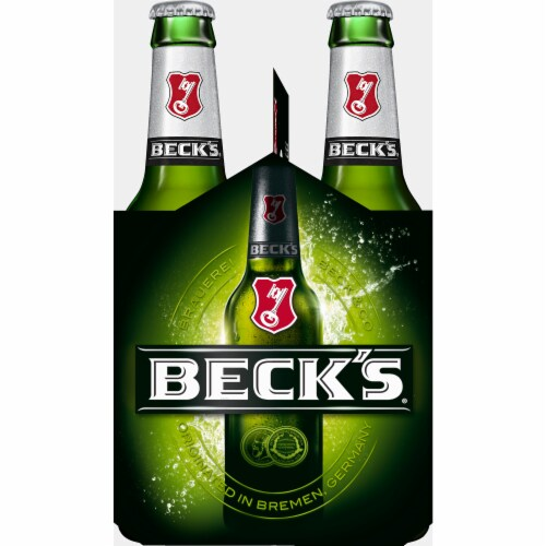 Beck's Pilsner Beer Perspective: left