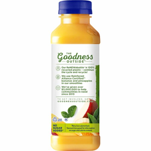 Naked Boosted Green Machine Juice Smoothie (15.2 fl oz) from Kroger - Instacart
