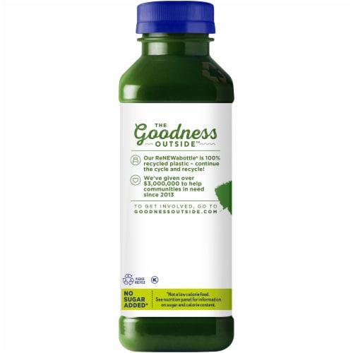Naked Juice Fruit and Veggie Juice Kale Blazer Perspective: left