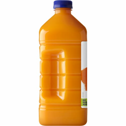Naked Juice 100% Mighty Mango Flavored Juice Blend Drink Perspective: left
