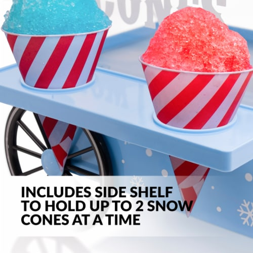 Nostalgia Vintage Snow Cone Maker Perspective: left