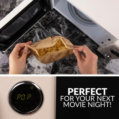 Nostalgia Retro Countertop Microwave Oven - Ivory Perspective: left