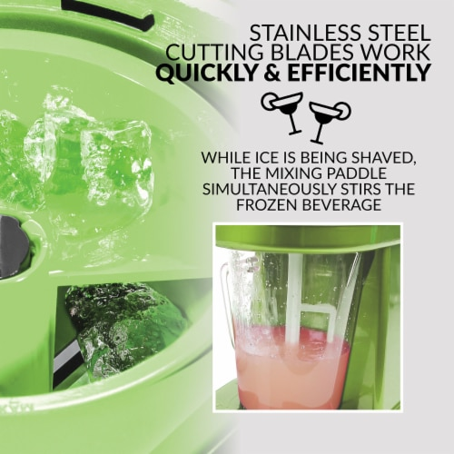 Taco Tuesday Frozen Beverage Station - Green Perspective: left