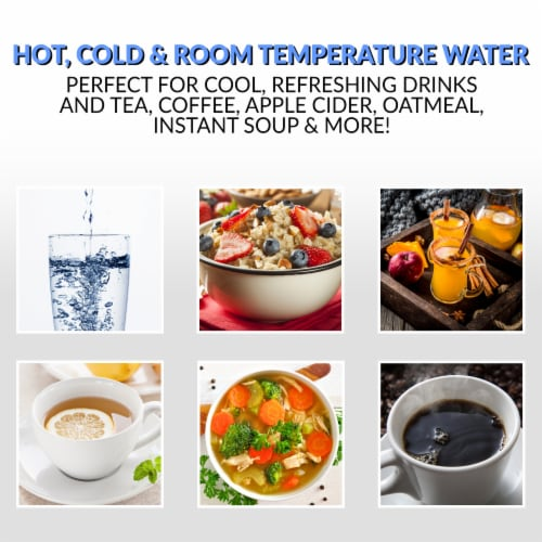 Igloo Hot Cold & Room Temperature Bottom Load Water Dispenser Perspective: left