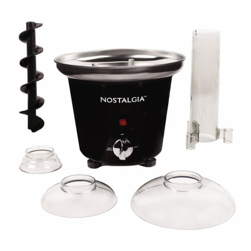 Nostalgia 3-Tier Chocolate Fondue Fountain Perspective: left