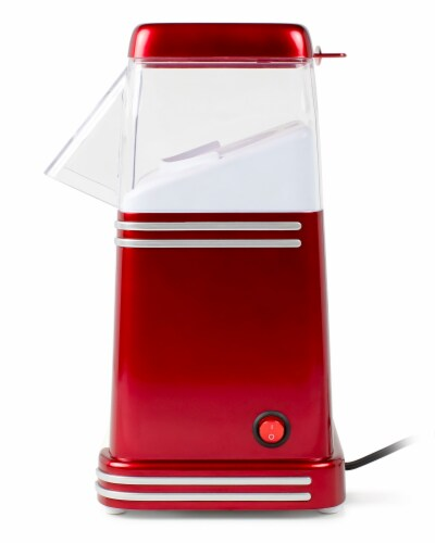 Nostalgia Electrics Retro Hot Air Popcorn Maker - Red Perspective: left