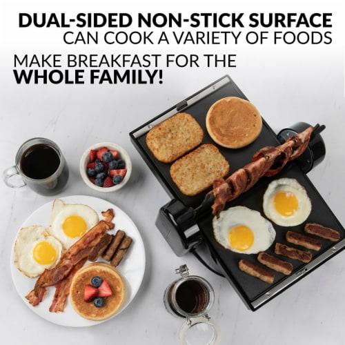 HomeCraft Bacon Press & Griddle Perspective: left