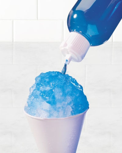 Nostalgia Electric Shaved Ice & Snow Cone Maker Perspective: left
