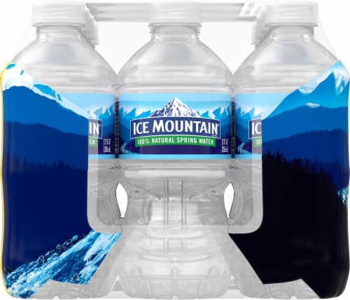 Ice Mountain Go Size Natural Spring Water Perspective: left