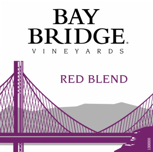 Bay Bridge Red Blend Red Wine Perspective: left